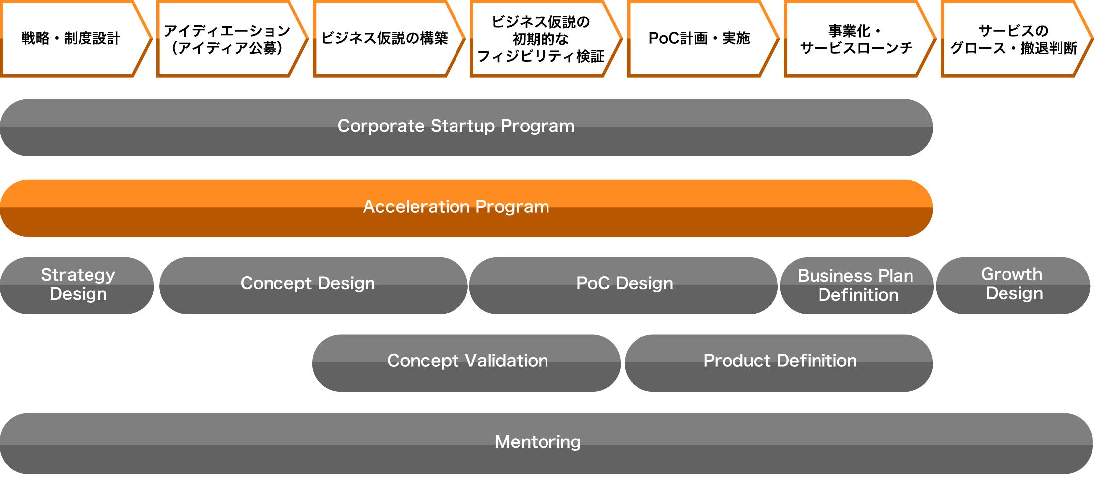 アクセラレーションプログラム